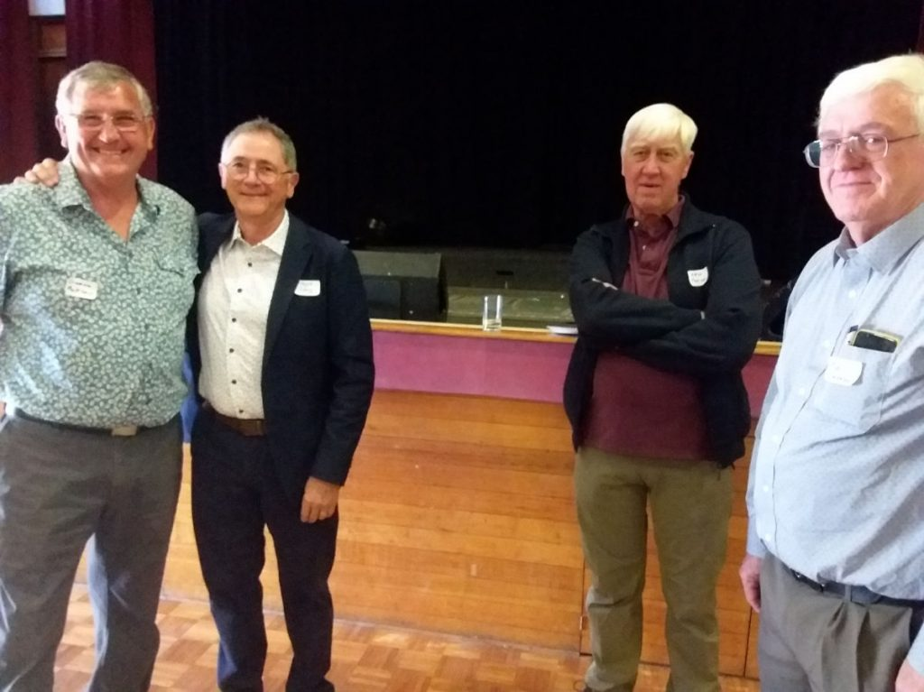 Graeme, Wayne, Ken, Paul