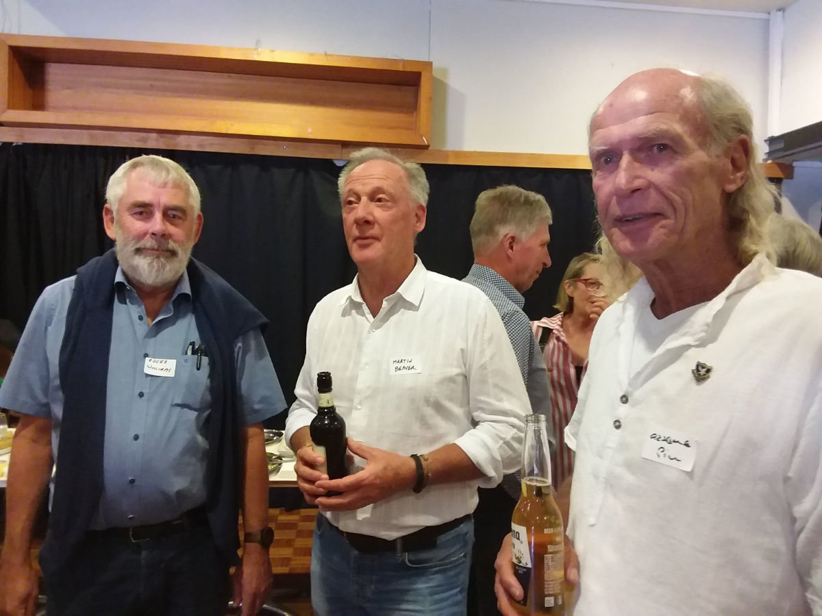 Roger, Martin, Graeme