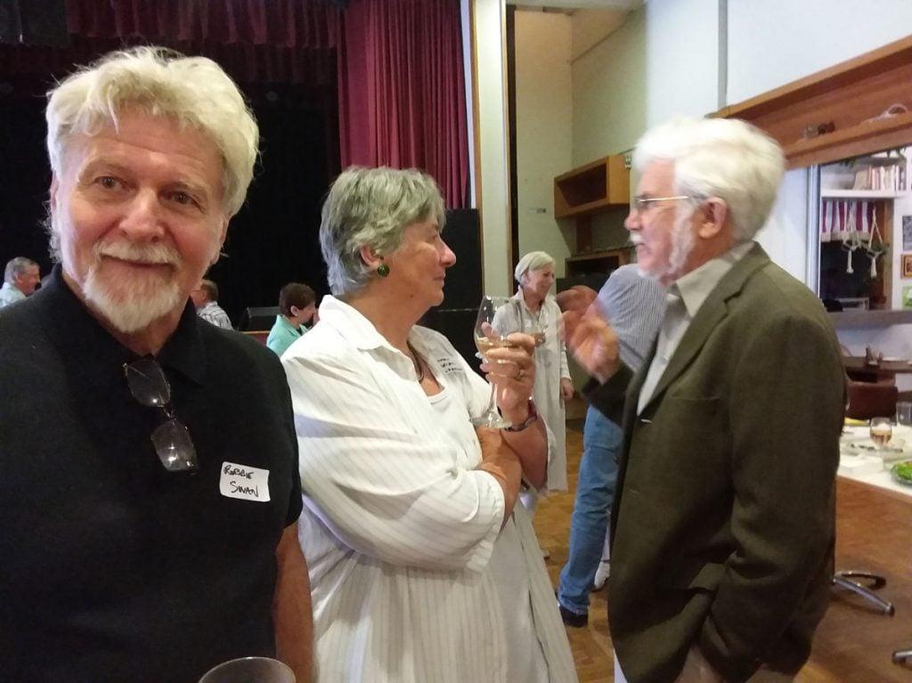 Robbie, Cathy, Geoff Page