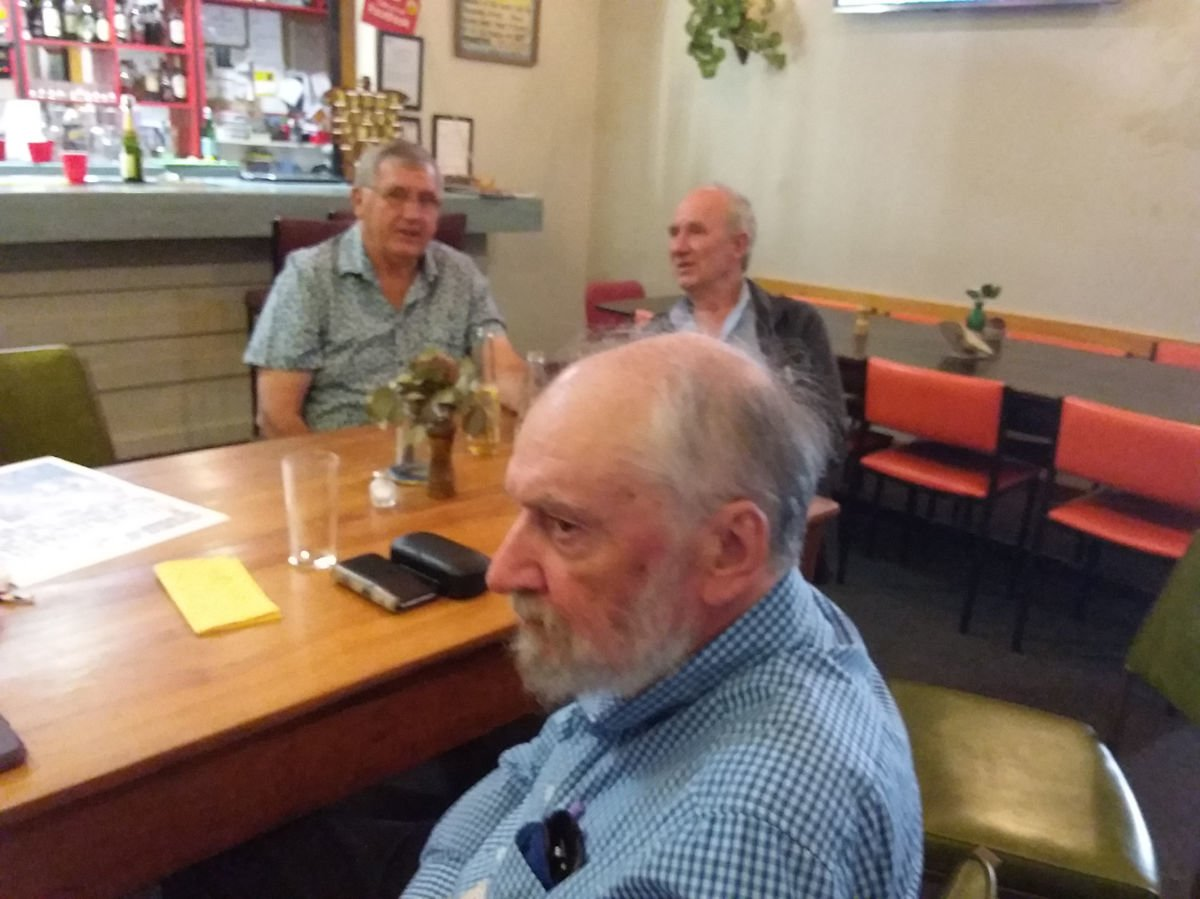 Martin, Graeme & Bruce in the background