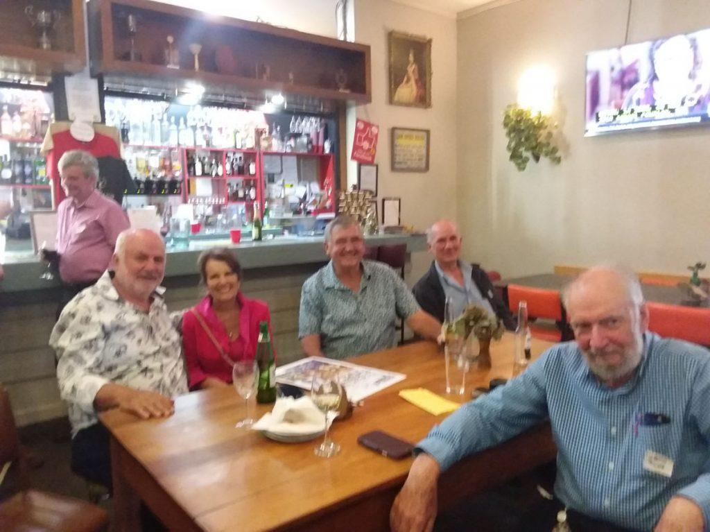 Ray, Margaret,Graeme, Bruce, Martin